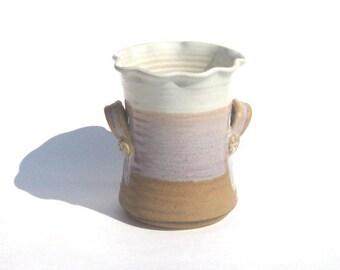 Utensil Jar - Desert's Edge Glaze