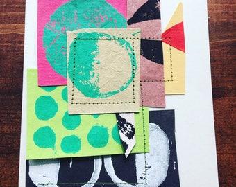 Handprinted Card