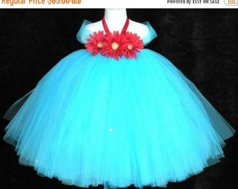 SUMMER SALE 20% OFF Desert Bloom - Custom Sewn Tutu Dress - any size up to 5T and 30 inches in length