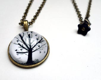 Necklace, tree of hearts CO008