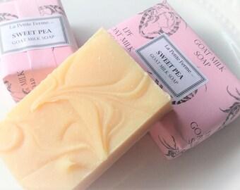 Sweet Pea goat milk soap - Lovely