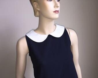 Rare Editions Navy Blue Girl's Dress