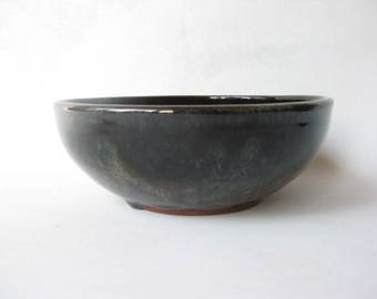 Pottery Serving Bowl 4 Cup, Serving Bowl,  Stoneware Bowl, Salad Bowl