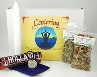 Centering  Spell Boxed Ritual Kit-Spells for Love, Spells that work, spell kits, altar kits, witchcraft spells, witch spells,