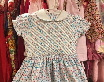 Vintage Floral Dress 5/6