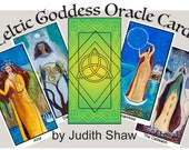Celtic Goddess Oracle Deck with guidebook