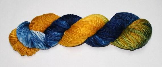 Willie Hand Dyed Sock Yarn