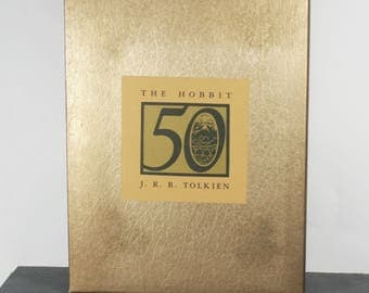 The Hobbit 50th Anniversary Edition - Vintage Collectors Book