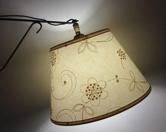 Bridge lamp shade etsy bridge lampshade uno lampshade lamp shade candelwicking shade for bridge lamp aloadofball Gallery