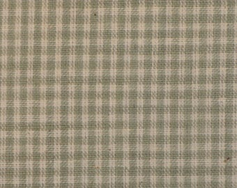 Homespun Material | Cotton Material | Quilt Material | Craft Material | Home Decor Material | Small Grey Check Material | 30 x 44