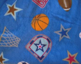 Sports NoSew Fleece Blanket