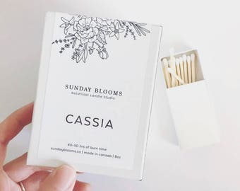 Cassia Soy Candle