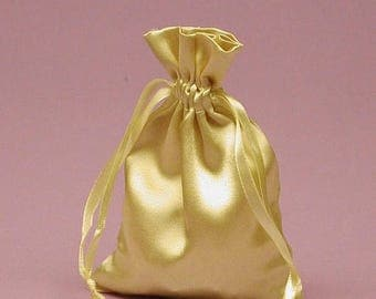STOREWIDE SALE 12 Pack  3 X4  inch Satin Drawstring Bags Inch Size Great For Gifts, Favors, Sachets, Weddings