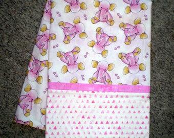 Pink Elephant pillowcase