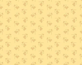 Bee Basics By Lori Holt Heart Yellow (C6401-Yellow)