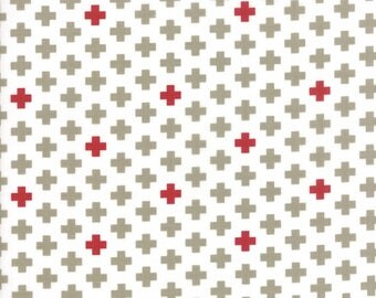 Project Red (5681 22) White Taupe Cross by Sweetwater