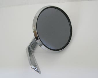 Vintage 1950's Plymouth Round Tinted Side Mirror Review Mirror X LE A4