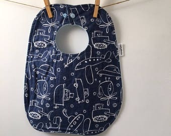 Planes, Trains and Automobiles Baby Gift - Airplane Baby Bib - Boat Baby Gift - Boy Baby Gift - Boy Baby Shower Gift