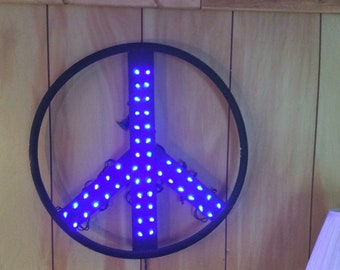 Peace sign Light! Man cave light, nightlight