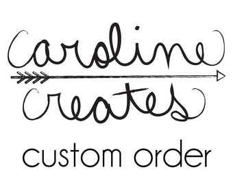 Custom Order for Aoife
