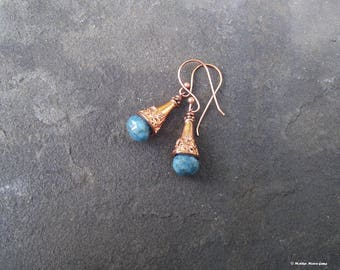 Ancient Days Copper & Chrysocolla Earrings