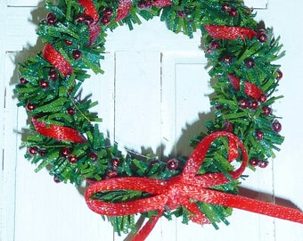 1' Christmas Wreath #4