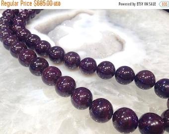 50% Mega Sale 12mm Natural Purple Sugilite Round Gemstone Beads