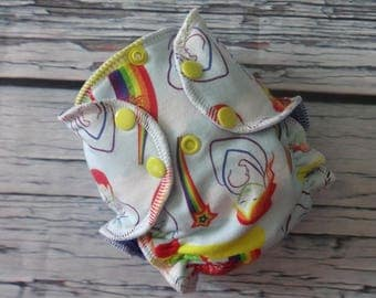 Newborn Fitted Cloth Diaper in Mother and Baby