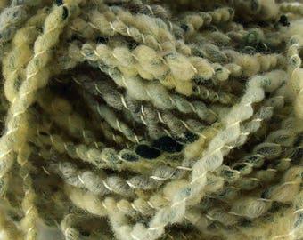 Crécerelle: handspun art yarn