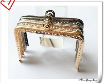 13cm x 8cm  sewing purse frame  Anti bronze gold nickel gunmetal to choose