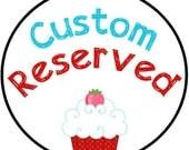 Custom Reserved--Natalie