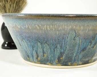Wetshaving Ceramic Bowl - Large Shaving Dish - Wet Shaving Pottery - Wet Shave Ceramic - Wetshaving Dish - Shave Bowl - In Stock