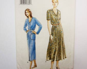 Very Easy Very Vogue Sewing Pattern 9541, Misses Dress, Sizes 14, 16, 18, Uncut 1996