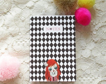 "Mini notebook - notebook - ""In My Arms - Doll"""