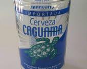 YAVA Glass - Upcycled Large Caguama Bottle Glass