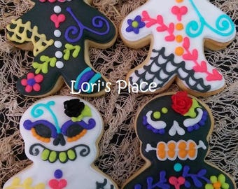 Dia Los Muertos Cookies - Day of the dead cookies - 12 - Cookies