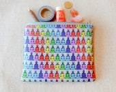 Make Up Bag/ Gay Pride Gift/ Teacher Gift/ Graduation Gift/ Best Friend Gift/ Birthday Gift/ Sister Gift/ Pencil Case/ Unisex Gift/ Pouch