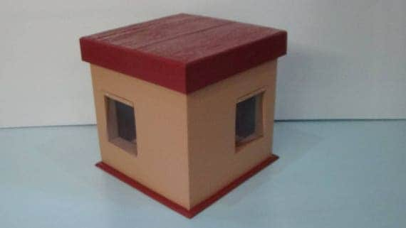 COZY KITTY COTTAGE (Ships Next Bus. Day)insulated outdoor cat house, bed, shelter, condo