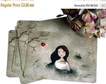 30% Off - Summer SALE 30 Percent Off - Summer SALE Snow White - Postcard