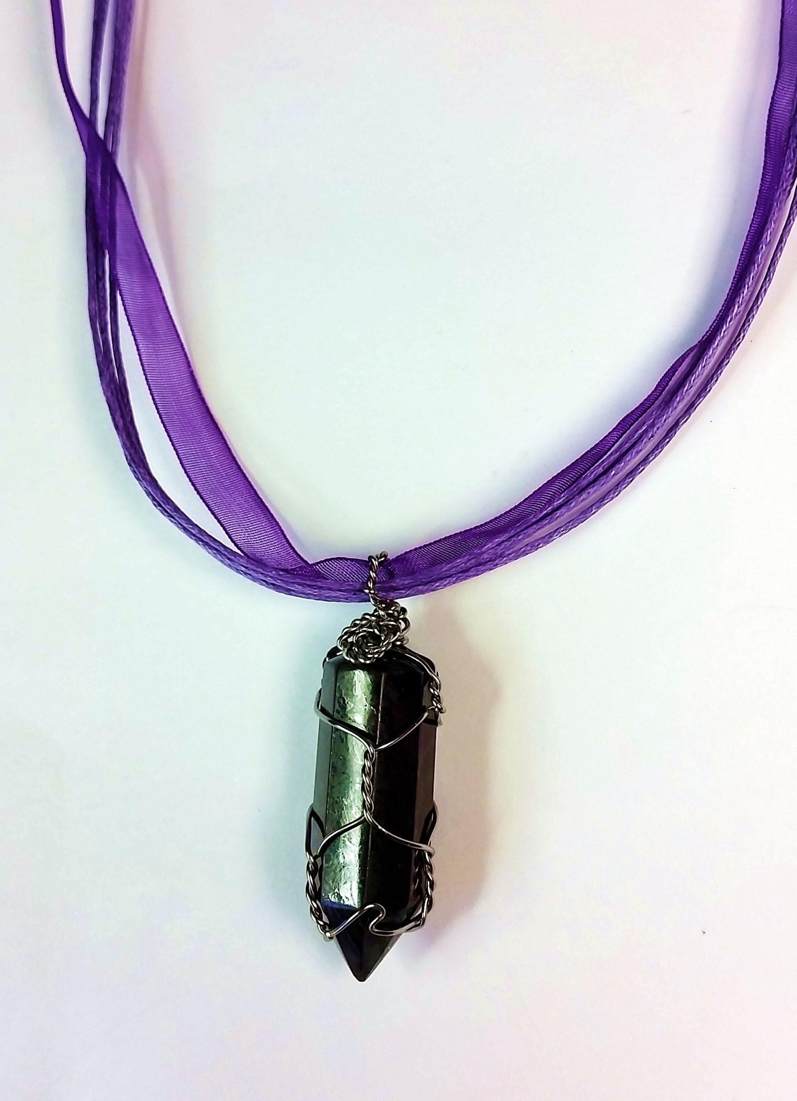 Deep purple pendant charoite pendant polished purple pendants gallery photo gallery photo mozeypictures Gallery