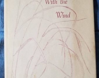 Autographed Vintage book Sing w/ the Wind