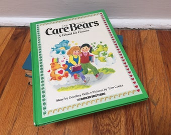Care Bears Book A Friend for Frances Children's Book Vintage Hardcover 1983