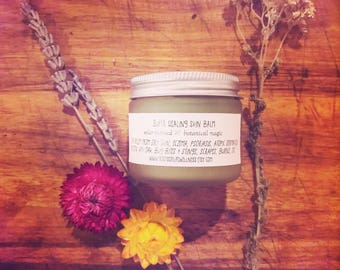super healing skin balm / solar infused botanical magic