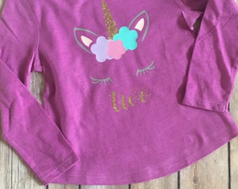Unicorn birthday shirt