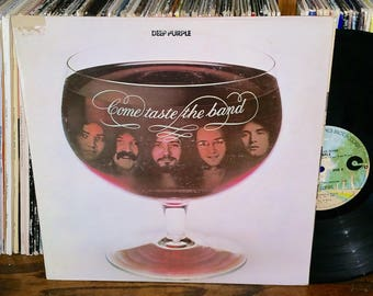 Deep Purple Come Taste The Band Vintage Vinyl Double Album
