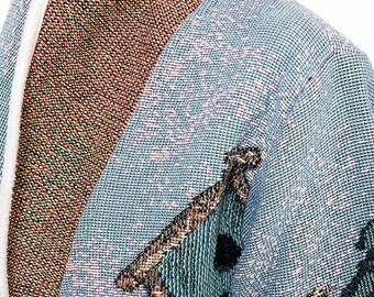 40% SUMMER SALE The Vintage Bird House Blazer Jacket