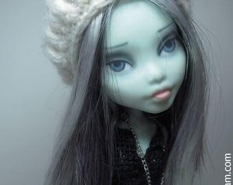 Julia - OOAK Monster High Frankie Stein Repaint Doll