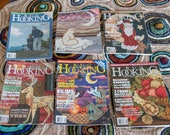 Reserved Listing for Kimberly Rug Hooking Magazines Lot of Seven (LOT 1)