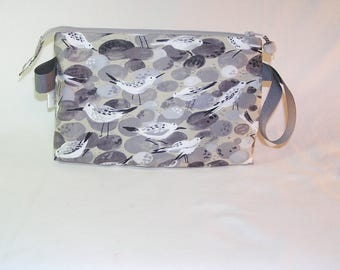 Sandpipers on Stone Tall Mia Bag