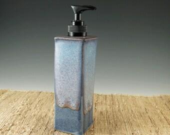 Bathroom Decor, Soap Dispenser, Hand Soap Dispenser, Soap Pump, Lotion Dispenser, Home Decor, Blue, Liquid Soap,  Kitchen Decor, 417